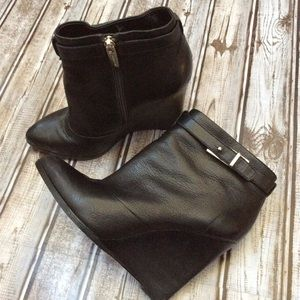 🌸Black Coach 'Melody' Wedge Booties 🌸